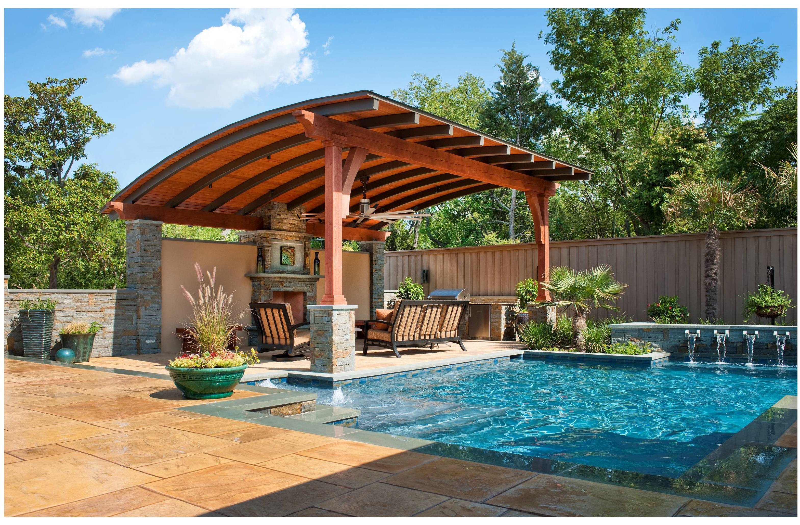 Southwest fence deck earns 2012 coty award for south for Southwest pergola